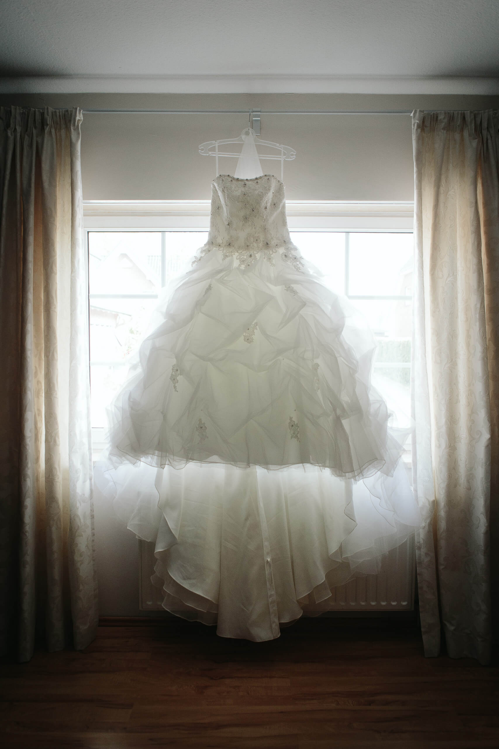 Brautkleid fotografieren